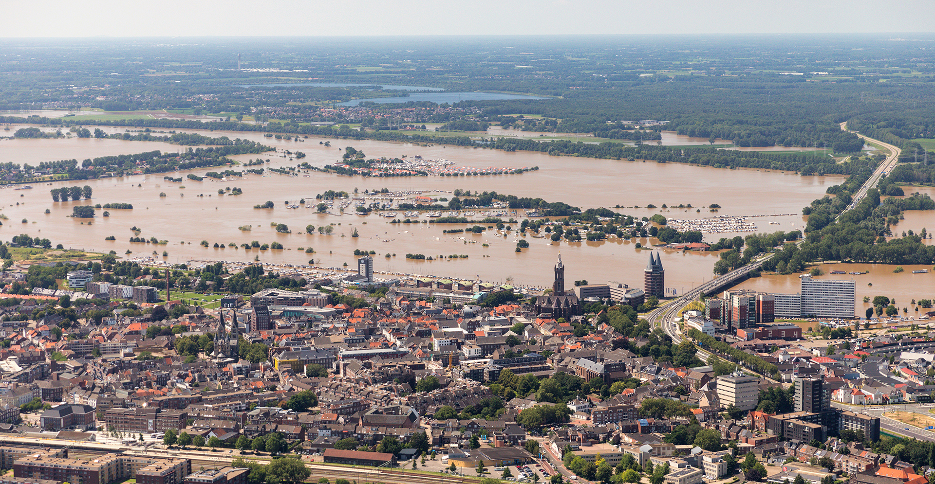 Europe's unexpected summer flooding
