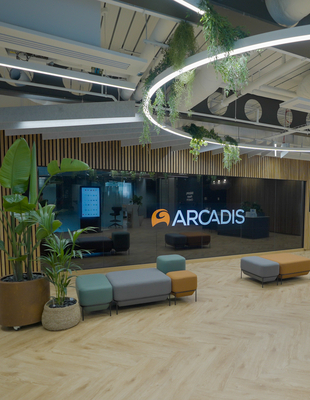 Arcadis underlines confidence in the future of the office, as it opens new London base in the heart of the City