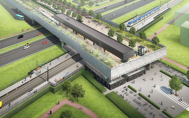 Regio Rotterdam Den Haag beter bereikbaar door nieuw station