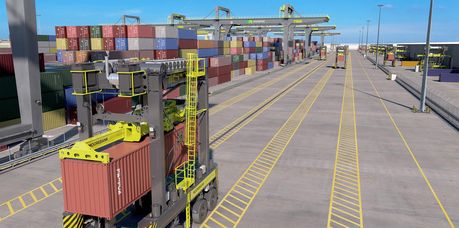Freight Infrastructure within Moorebank Logistics Park Precinct