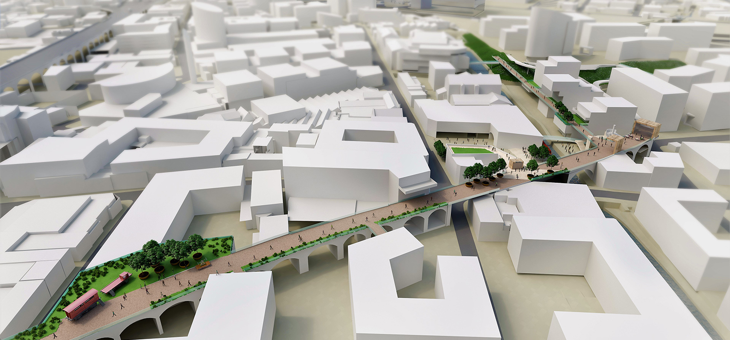 The regeneration masterplan will create a bold new vision for Digbeth's future