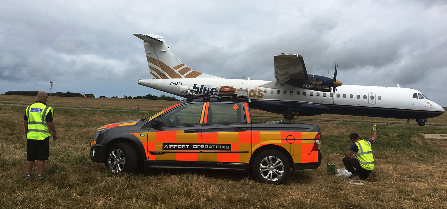Guernsey Airport needed help investigating potential contamination issues