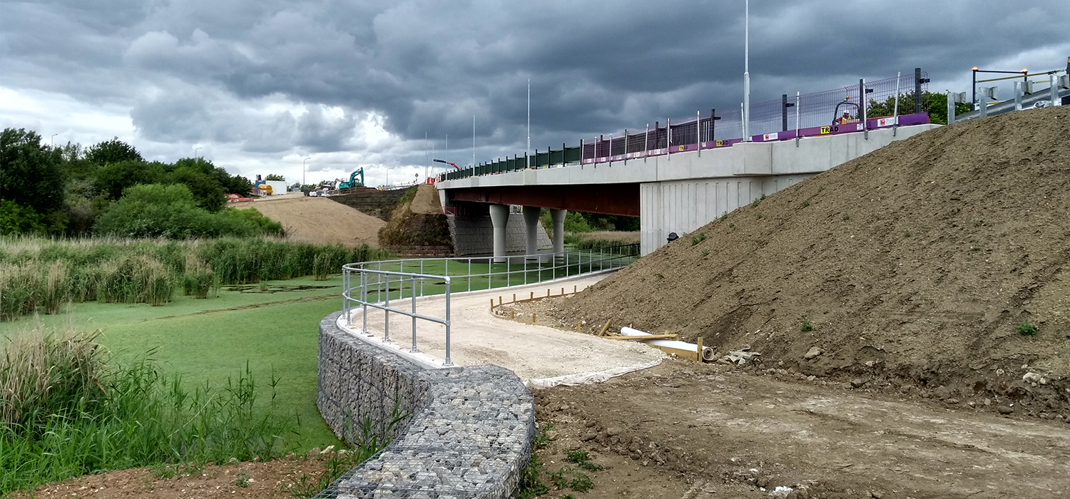 The new bridge will save 20 minutes on journey times