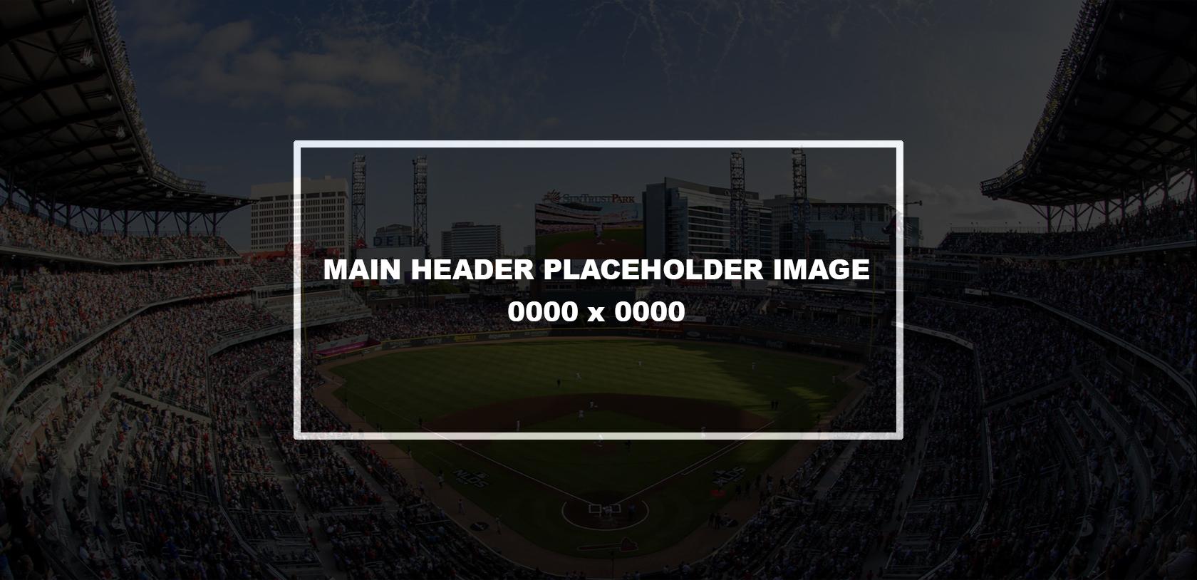 Project Header Placeholder